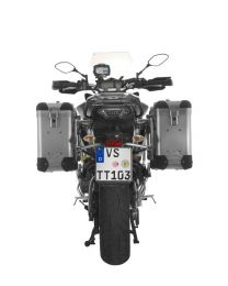 ZEGA Pro2 aluminium pannier system 31/31 litres with stainless steel rack for Yamaha MT-09 Tracer (2015-2017)