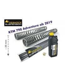 Progressive fork springs for KTM 790 Adventure from 2019 -30mm lowering