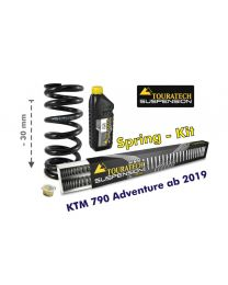 Height lowering kit, -30mm, for KTM 790 Adventure from 2019 replacement springs