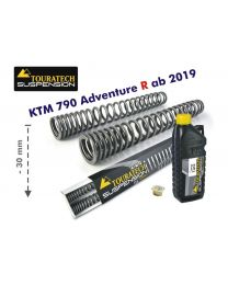 Progressive fork springs for KTM 790 Adventure R from 2019 -30mm lowering