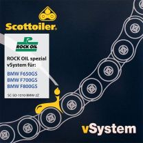 Scottoiler vSystem chain lubrication system. for BMW F650GS / F700GS / F800GS (2008-2016)