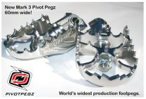 Touratech Pivot Pegz - *Mark3* for Kawasaki Versys 650 from 2006