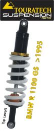 Touratech Suspension *rear* shock absorber for BMW R1100GS from 1995 type *Level1*