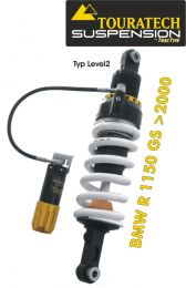 Touratech Suspension *rear* shock absorber for BMW R1150GS from 2000 type *Level 2*