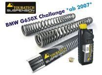 Touratech Hyperpro progressive replacement fork springs. BMW G650X Challenge