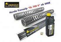 Touratech Hyperpro progressive replacement fork springs. Honda XL700V Transalp '08
