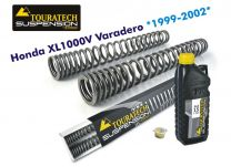 Touratech Hyperpro progressive replacement fork springs. Honda XL1000V Varadero >1999 - 2002