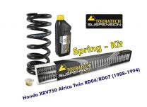 Progressive replacement springs for fork and shock absorber, for Honda XRV750 Africa Twin RD04/RD07 (1988-1994)