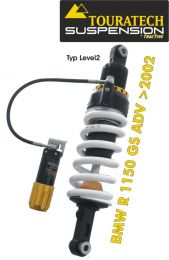 Touratech Suspension *rear* shock absorber for BMW R1150GS ADV from 2002 type *Level 2*