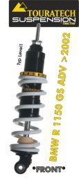 Touratech Suspension *front* shock absorber for BMW R1150GS ADV from 2002 type *Level1*