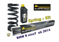 """Progressive BLACK-T replacement springs Stage 1 for fork and shock absorber fit BMW RnineT from 2014 """