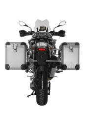 ZEGA Pro Aluminium Pannier System with stainless steel rack for BMW R1250GS/ R1250GS Adventure/ R1200GS from 2013/ R1200GS Adventure from 2014