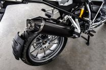 Silencer AC-Schnitzer Stealth. black. slip-on for BMW R1250GS/ R1200GS (LC) from 2017/ R1200GS Adventure (LC) from 2017