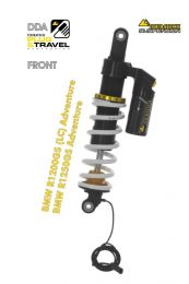 """Touratech Suspension """"front"""" shock absorber DDA / Plug & Travel for BMW R1200GS Adventure (LC) 2014 - 2016 """