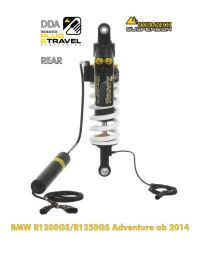 """Touratech Suspension ""rear"" shock absorber DDA / Plug & Travel for BMW R1200GS Adventure  2014 - 2016  """