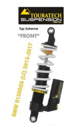 Touratech Suspension *front* shock absorber for BMW R1200GS (LC) 2013-2017 type Extreme