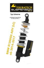 Touratech Suspension *front* shock absorber for BMW R1200GS Adventure (LC) 2014-2017 type Extreme