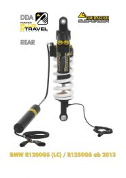 """Touratech Suspension """"Rear"""" shock absorber for BMW R1200GS(LC)/R1250GS DDA/Plug & Travel from 2013"""