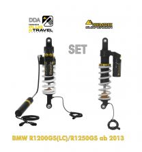 """Touratech Suspension DDA / Plug & Travel SUSPENSION-SET for BMW R1200GS (LC) 2013 - 2016  """