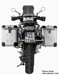 ZEGA Pro2 with stanless steel rack for BMW R1250GS/ R1250GS Adventure/ R1200GS (LC) / R1200GS Adventure (LC)