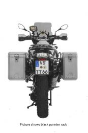 ZEGA Mundo aluminium pannier system with stainless steel rack for BMW R1250GS/ R1250GS Adventure/ R1200GS from 2013/ R1200GS Adventure from 2014