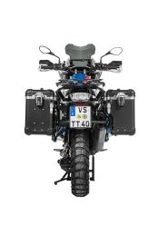 """Touratech ZEGA Evo X special system """"And-Black"""" 38/38 litres with stainless steel rack black for BMW R1250GS/ R1250GS Adventure/ R1200GS ab 2013/ R1200GS Adventure ab 2014"""