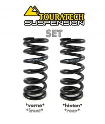 "Touratech Progressive replacement springs for front and rear shock absorber BMW R1200GS(LC)/R1250GS Adventure ab 2014 ""Original shocks without BMW Dynamic ESA"""