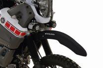 Touratech High mudguard in black for the Yamaha XT660Z Ténéré