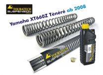 Touratech Progressive fork springs for Yamaha XT660Z Tenere (no ABS) *from 2008*