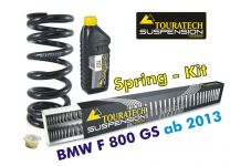 Touratech Hyperpro progressive replacement springs for fork and shock absorber. BMW F800GS / Adventure *from 2013*