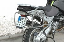 Pannier Racks STANDARD. BMW R1200GS up to 2012/ R1200GS Adventure up to 2013 stainless steel