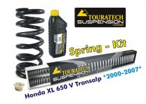 Touratech Hyperpro progressive replacement springs for fork and shock absorber. Honda XL650V Transalp *2000-2007**replacement springs*