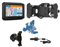 Garmin zumo 396 LMT-S Bike & Car Set. black