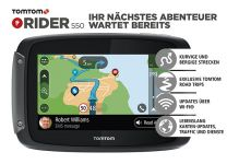 TomTom Rider 550 World. Lifetime global maps