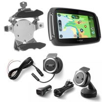 TomTom Rider 550 with worldwide maps. Bike & Car Set. silver