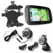 TomTom Rider 550 with worldwide maps. Bike & Car Set. black