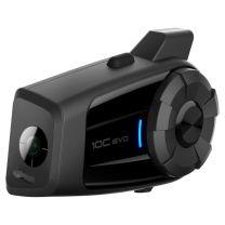 Headset with integrated Actioncam Sena 10C EVO