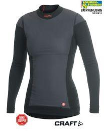 Active Extreme Windstopper long sleeve shirt *Women's*. size S Colour: black