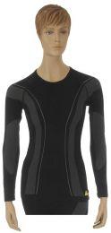 "Longshirt ""Allroad"". ladies. black size:s"