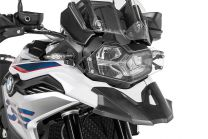 Headlight protector makrolon with quick release fastener for BMW F850GS / F750GS