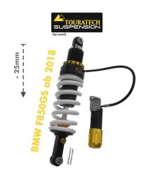 Touratech Suspension lowering shock -25 mm for BMW F850GS from 2018 type Level2