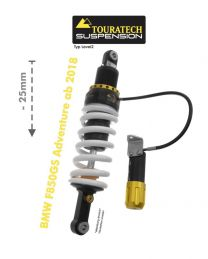 Touratech Suspension lowering shock -25mm for BMW F850GS Adventure from 2018 type Level2