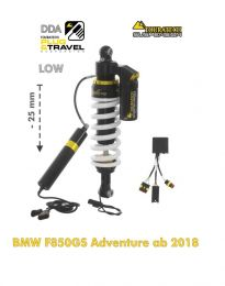 Touratech Suspension lowering -25mm shockabsorber for BMW F850GS Adventure from 2018 DDA / Plug & Travel