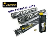 Touratech Progressive fork springs for BMW F750GS from 2018