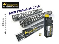 Touratech Height lowering kit. 30mm. for BMW F750GS from 2018 replacement springs