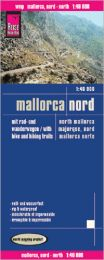 Map Reise-Know-How publishing house Mallorca Nord 1:40.000