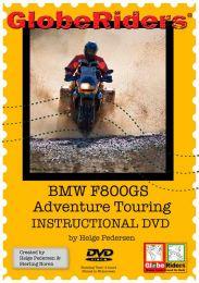 Video DVD Globeriders BMW F800GS Adventure Touring Instructional DVD