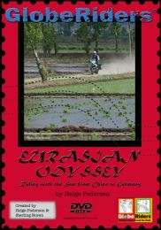DVD GlobeRiders Eurasian Odyssey Riding with the Sun from China to Germany