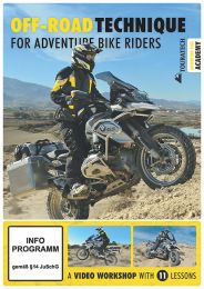 "Video DVD ""Off-road technique for adventure bike riders"" (english)"