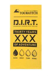 "Touratech Multi functional head Buff ""Enduro Frenzy"", yellow, 30 Years"